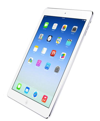 Apple's iPad Air.(Source: Apple.com)