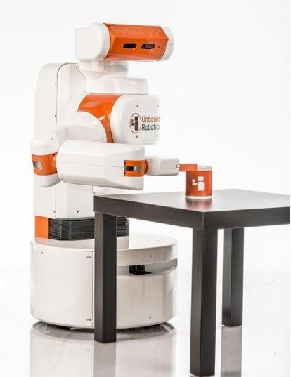 One of the more recent robots to launch is the UBR-1 by Unbounded Robotics, Inc. The goal was to bring to market an affordable robot that was still powerful. This one-armed assistant is easy to program, based on a mobile platform. 