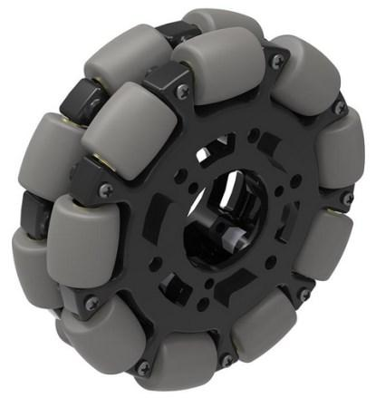 A 4' omni-directional wheel from VexRobotics.com (I've ordered three).
