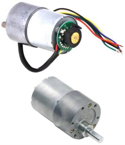 A 50:1 motor and encoder from RobotShop.com (I've ordered three).