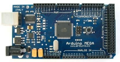 The Arduino Mega.