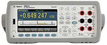The 34461A multimeter, Agilent's replacement for the classic 34401A.