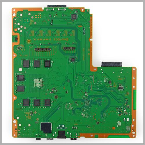 Back of board. (Source: Chipworks)