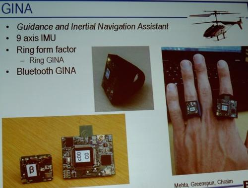 Berkeley's Gina is a step toward a node on a chip.