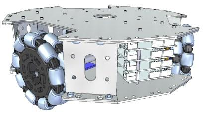 An early rendering of my proposed robot platform. (Click here to see a larger, more detailed image.)