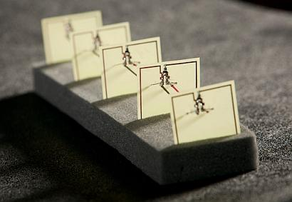 This five-cell metamaterial array developed by Duke engineers converts stray microwave energy, as from a WiFi hub, into more than 7 V with an efficiency of 36.8% -- comparable to that of a solar cell.