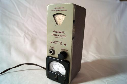 The Heathkit Grid Dip Meter Model GD-1A