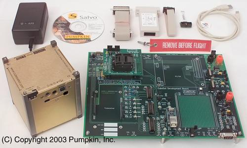 CubeSat kit from Pumpkin, Inc. (Source: Pumpkin, Inc.)