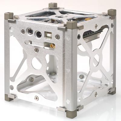 CubeSat skeleton. (Source: Pumpkin, Inc.)