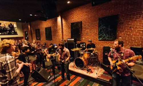 Built to Spill performs at Cafe Strich. (Source: Cafe Strich)