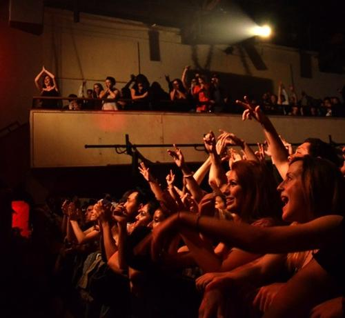 A crowd watches Zion-I perform at The Catalyst in Santa Cruz. (Source: Mockingbird Photography; courtesy of The Catalyst)