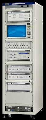 An 8100 LTE test system from Spirent Communications.