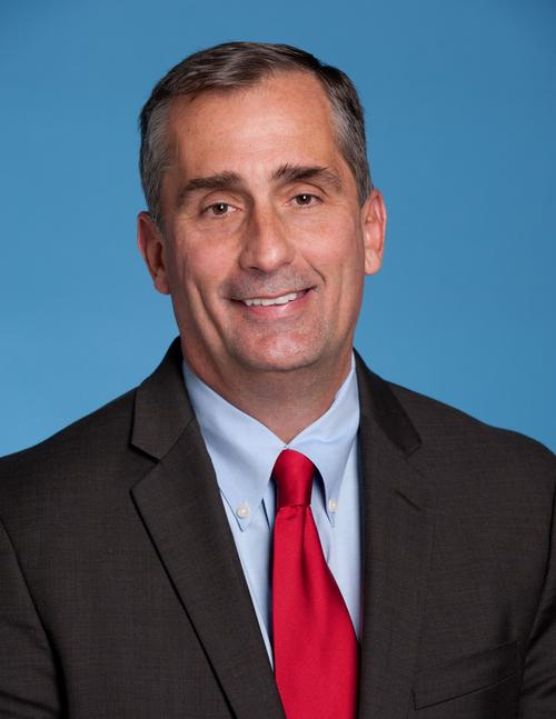 CEO Brian M. Krzanich. Source: Intel