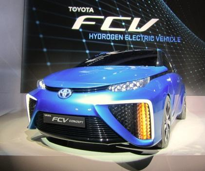 Toyota's fuel cell vehicle