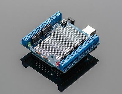 Adafruit Arduino Uno Proto-Screwshield.