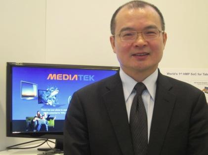 MediaTek President C.J. Hsieh