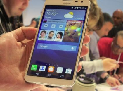 Huawei unveiled Ascend Mate 2 4G at CES.