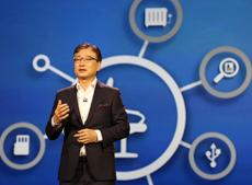 Samsung CEO B.K. Yoon