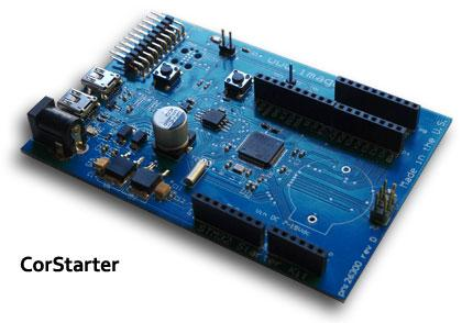 The CorStarter Dev board