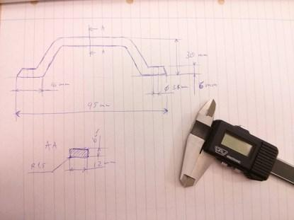 Sketching out a part to be designed in CAD.(Source: Creative Tools)