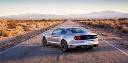 The 2015 Mustang features a lower, wider stance with a reduction in roof height and wider rear fenders. Since the introduction of the Mustang in April 1964, Ford has sold more than nine million of them. 