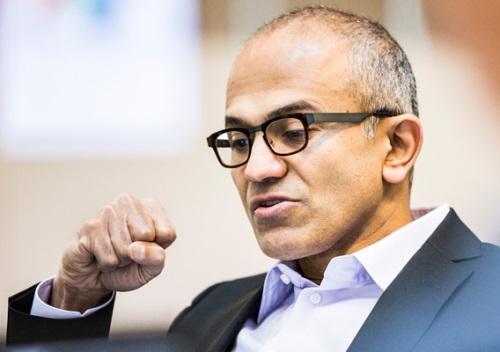 An engineer by training, Nadella takes charge of a company with about 100,000 employees and $77 billion in revenue.