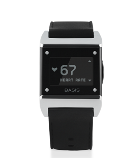 A Basis smartwatch health tracker.(Source: Basis)