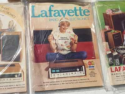 A catalogue from Lafayette Radio Electronics, formerly of Syosset, N.Y.