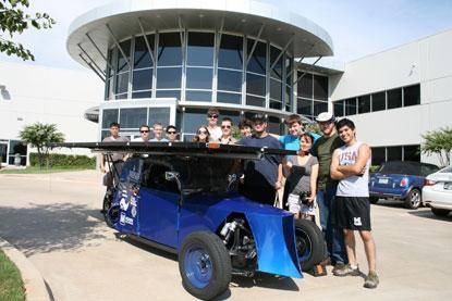 Mouser Solar Car Challenge 2013. (Source: Mouser)