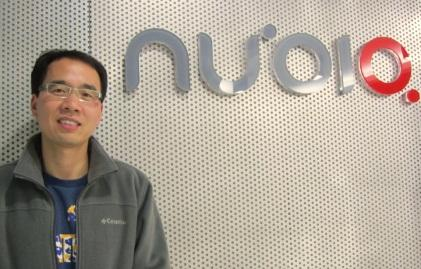 Nubia CEO Ni Fei in Shenzhen. (Source: EE Times/Junko Yoshida)