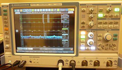 The RTE 1104 oscilloscope from Rohde & Schwarz was released February 25, 2014. It will be on display at at EE Live! 2014.