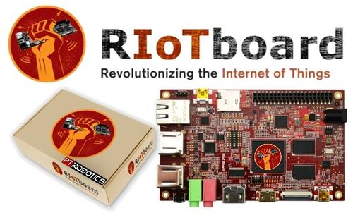 Creating a virtual frenzy among attendees at Embedded World, the RIoTBoard (Riotboard.org) is a $74 open-source, single-board platform based on the Freescale i.MX 6Solo processor using the ARM Cortex-A9 architecture. Operating at 1 GHz, the board is ideal for Android and Linux development and in fact comes preloaded with Android 4.3 (Jellybean). element14 is showcasing the new board at Booth 1608 and will be doing a hands-on demo in the vendor training booth (2310) on Tuesday, April 1, from 3:00 p.m. to 3:45 p.m.
