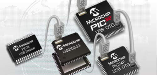 Microchip PIC USB.