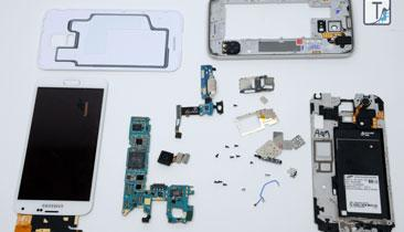 Samsung S5 Teardown: Loaded With Sensors