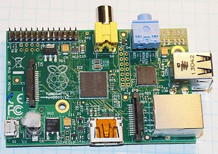 Raspberry Pi -- where's the CPU?