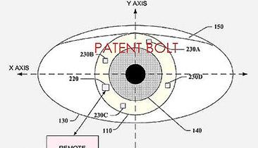 Google's contact lens patents hint at a healthcare product, but there's clearly more to it than meets the eye. (Source: Google/via PatentBolt.com)