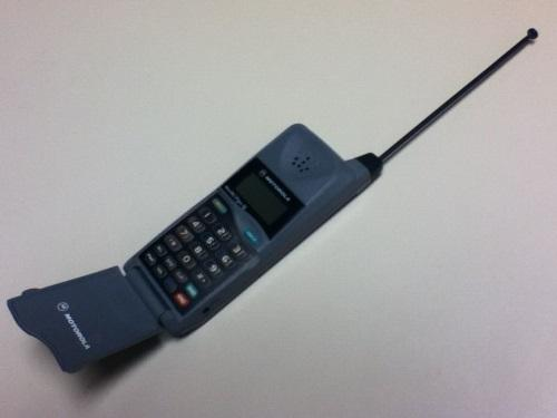 The MicroTAC became very popular in Hong Kong in the 1990s.