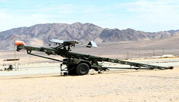 An the RQ-7 Shadow drone that the US military is looking to turn into a WiFi hotspot for troops. (Source: USMC)