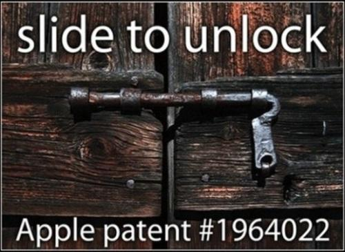 This is one version of a couple of efforts on the Web to lampoon one patent in the Apple v. Samsung case.