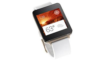 The LG smartwatch will use Google's Android Wear technology.