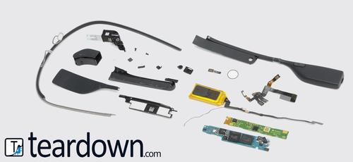 Google Glass teardown. 