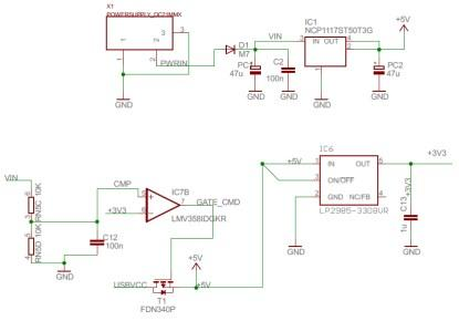 Subset of the Arduino Mega schematic diagram.(Click here to see a larger image.)