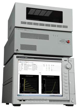 The Agilent B1506A Power Device Analyzer is a complete solution that can help identify substandard devices under actual circuit operating conditions, including a wide voltage and current range (3 kV and 1500 A) and a wide temperature measurement range (-50 degrees C to +250 degrees C).