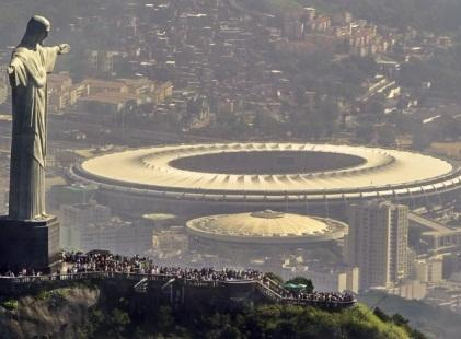 Brazil hosts World Cup 2014.