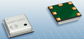 Teardown.com detected nine design wins for the Bosch Sensortec BMP180 barometric sensor (pictured).(Source: Bosch)