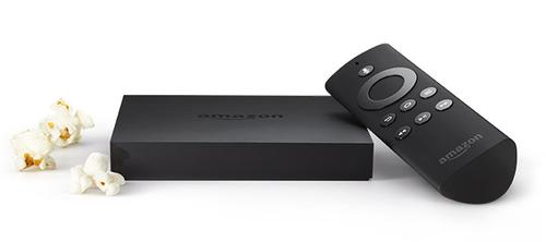 Amazon Fire TV box and remote.(Source: Amazon)