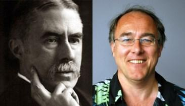 Here are pictures of A. E. Housman and yours truly.(I'm the one on the right.)