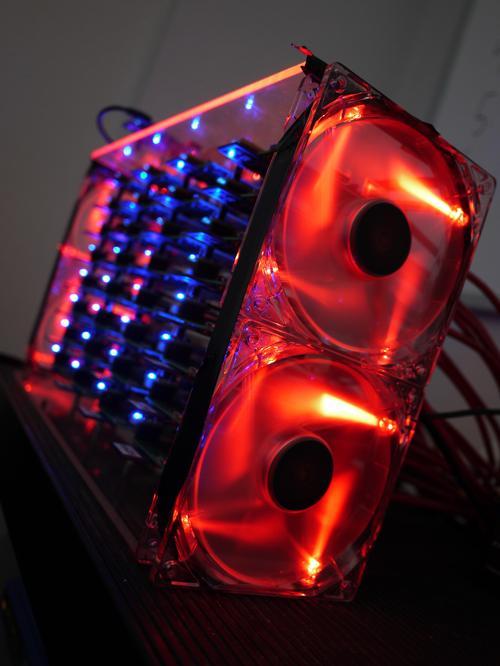 Joshua Kiepert's Raspberry Pi-based desktop supercomputer -- a.k.a., the Beowulf cluster research project.