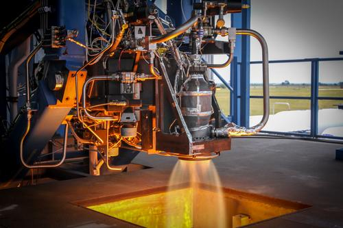 The world's first rocket thruster to be fabricated on a 3-D printer was certified by SpaceX today.