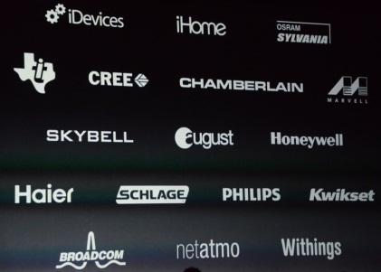 Apple lists firms that support HomeKit protocols. (Source: Apple)